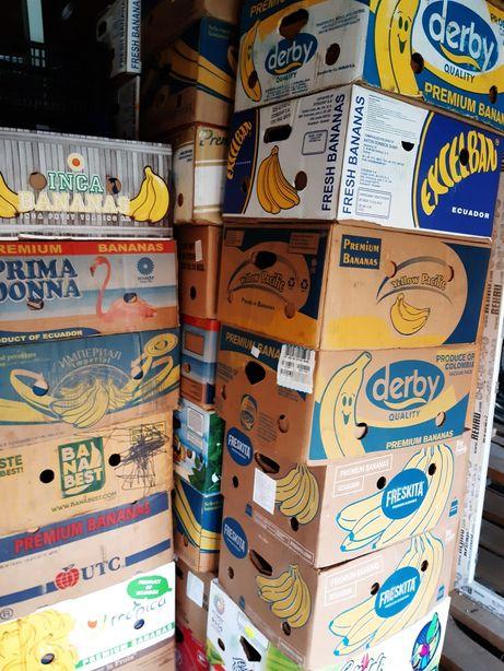 Ящики бананові бананки