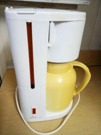 Кофеварка в рабочем состоянии