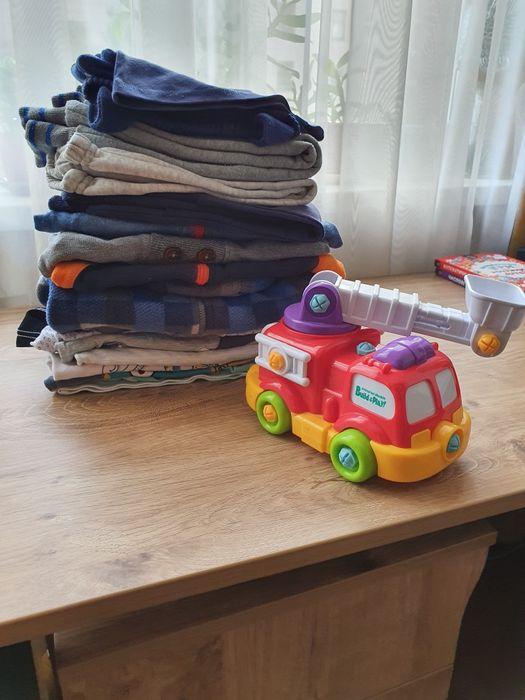 Пакет вещей тёплых 74-86 размера+ игрушка Киев - изображение 1