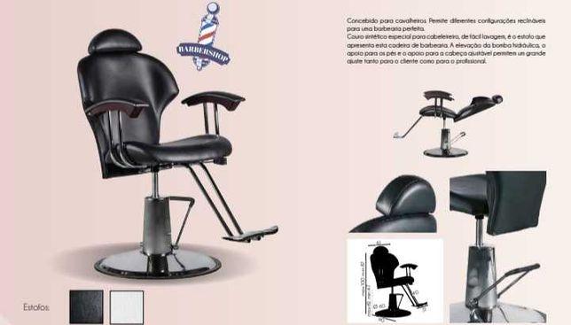 Cadeira barbeiro