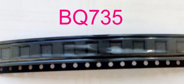BQ735 запечатанные в ленте BQ24735 BQ 24735 BQ 735