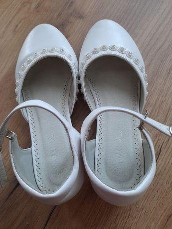 Buty komunijne pantofelki