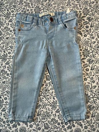 Spodnie jeansowe Zara dziewczynka