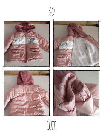 Теплая куртка на девочку.
