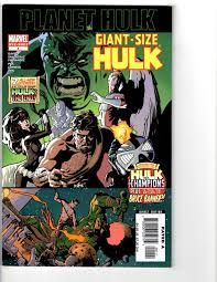 2 Hulk Marvel Comic Books Planet Hulk # 1 Monster-Size Hulk # 1 Warszawa - image 1