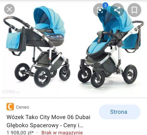 Wózek tako city move dubai 3 w 1