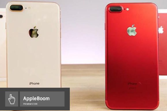 ••NEW•• iPhone 8 + PLUS 64• 256 Silver•RED•Space Gray•Gold•Оригинал••