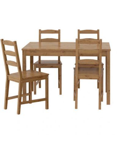 Stół z krzesłami z Ikei