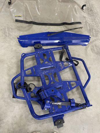 Vidro frente /vidro traseiro/ suporte pneus suplente // Polaris xp pro