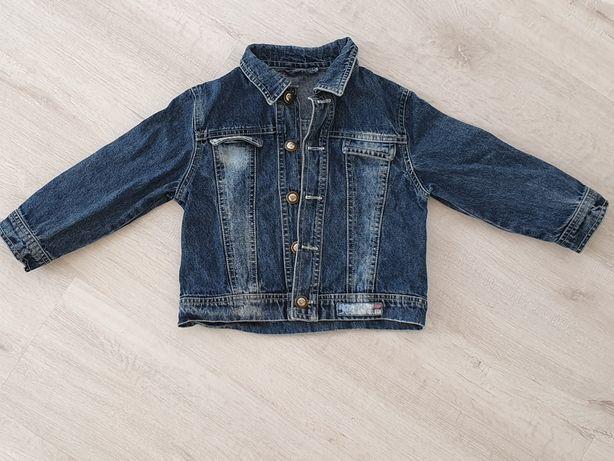 Kurtka jeansowa ro. 80, jeans, jesienna, wiosenna