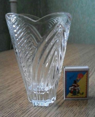 Хрустальная ваза для цветов. Производство СССР 80-е годы.