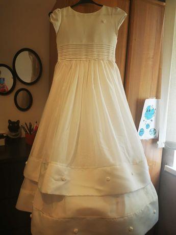 Sukienka komunijna +dodatki+ buty rozmiar 37