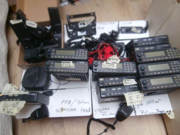 Motorola GM 350 VHF 1200 UHF 600 PMR 66 - 88 MHz mikrofon 2100
