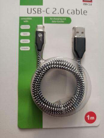 Pleciony przewód Kabel USB - USB C