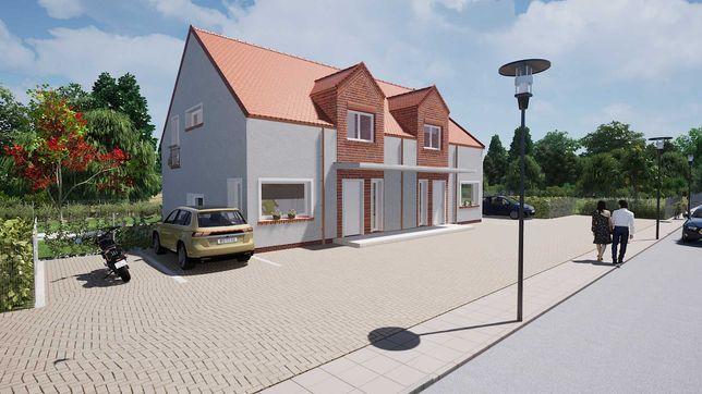 dom na sprzedaż 115 m2 dwulokalowy Krosno /k. Mosiny