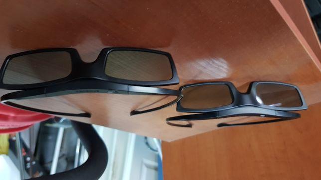 Okulary 3d Samsung/Panasonic-cena za 2 szt