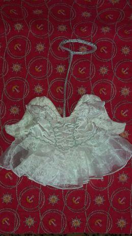 Платье ангелочка для фотосессии, на крестины.