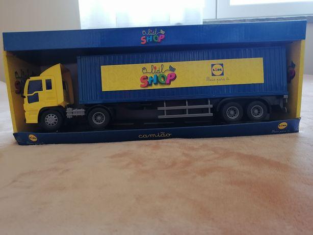 Camion lidl shop novo em caixa