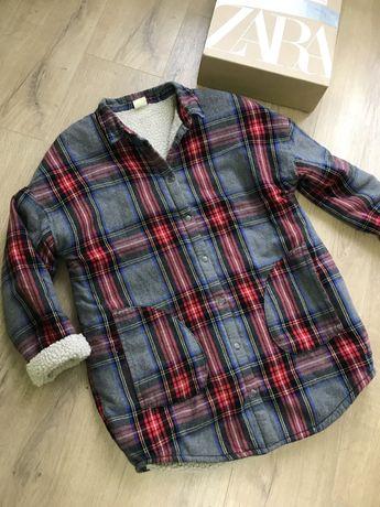 Рубашка, пальто, сорочка Zara