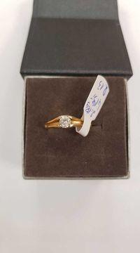Złoty Pierścionek -2,18g , rozmiar 13, próba 585-14K ! Lombard Dębica
