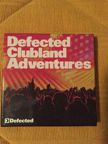CDs (3) Defected Clubland Adventures (como novos)