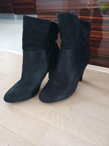 Buty botki kozaki Vices r. 38 czarne