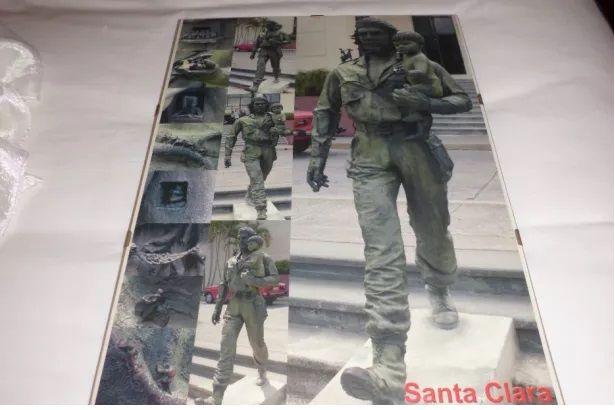 Quadro - Fotografia de Estátua Che Guevara