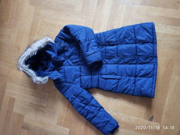 Длинная куртка, пальто зима / осень