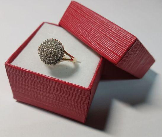 Śliczny zloty pierścionnek ! Próba 585