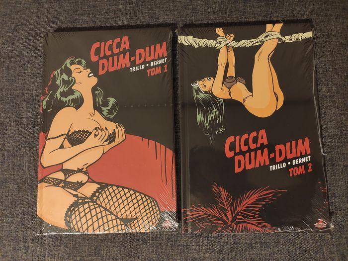 Cicca Dum-Dum  Tom 1 tom 2 nowe komiksy folia Piotrków Trybunalski - image 1