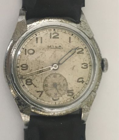 Relógio mecânico antigo, MILA