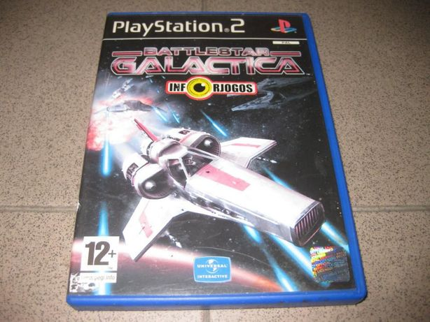 """Jogo """"Battlestar Galactica"""" para Playstation 2/Raro"""