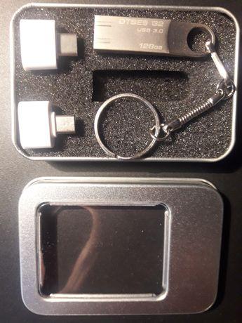 Флешка,внешний накопитель Kingston 128Гб