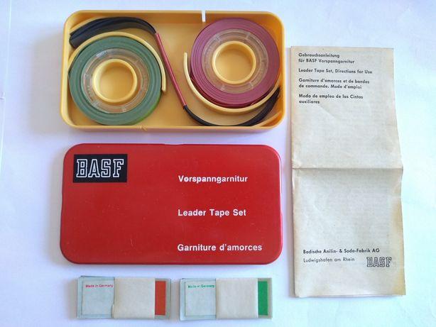 BASF Leader Tape Set (kit fita guia para cassetes k7 audio)