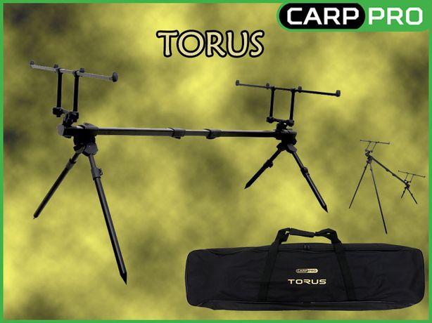 NEW Карповая подставка Род-под Carp Pro Torus на 4 удилища и 4 ноги