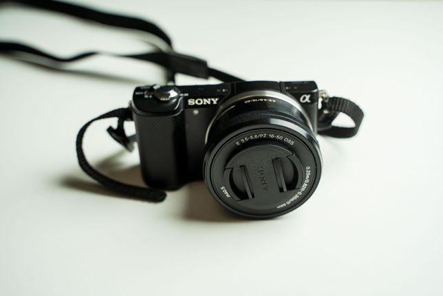 Aparat Sony A5000 + obiektyw 16-50mm - CAŁY ZESTAW - OKAZJA!!