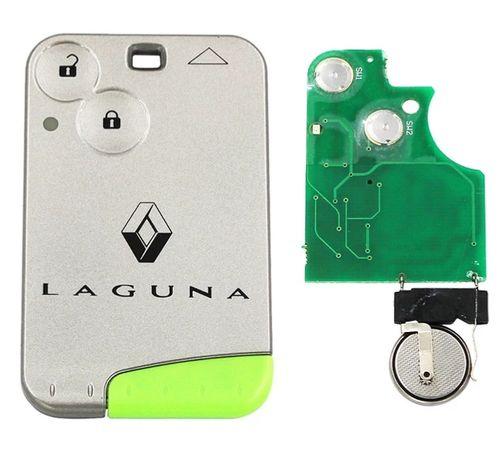 Cartão chave inteligente para Renault Laguna 2 é Espace