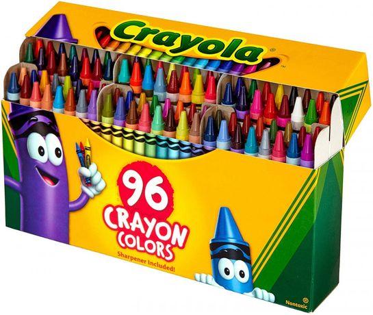 Crayola Восковые карандаши Crayons 96 шт.