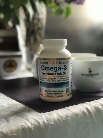 Рыбий Жир США Omega-3 Premium Fish oil Original