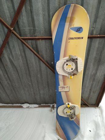 Deska snowboardowa 130cm