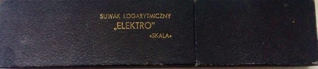 Suwak logarytmiczny ELEKTRO skala PRL