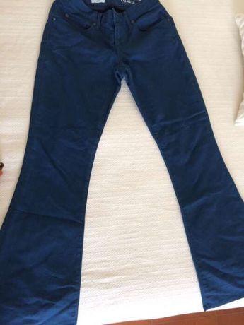 Calças azuis GAP
