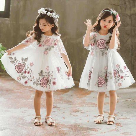 Нарядное платье для девочки р122