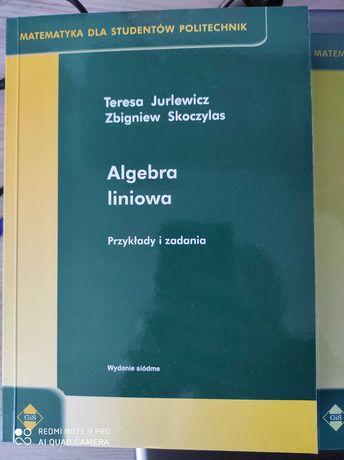 Algebra liniowa, przykłady i zadania, Jurlewicz Skoczylas nowa