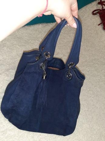 Продам синию сумку
