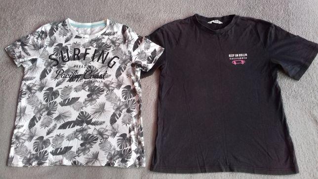 Rozmiar 158/164 koszulki dla chłopca z krótkim rękawem T-shirt
