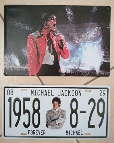 2 Chapas Metalicas do Michael Jackson