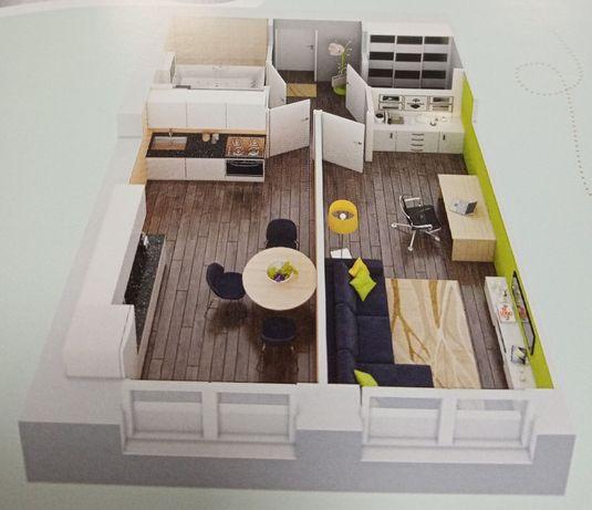 Уютная квартира за 24 809 у.е. 717 000 грн.