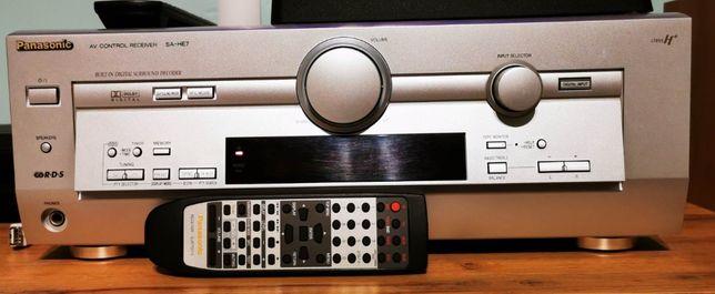 Wzmacniacz amplituner Panasonic SA-HE7