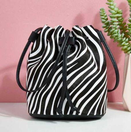 Saco balde Zebra